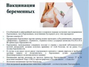 Планирование беременности и прививка от гепатита B