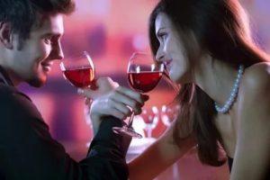 Алкоголь и поцелуй