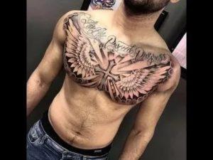 Татуировка на груди