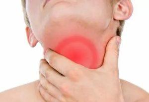 Боль в горле, жжение языка