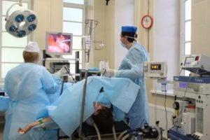 Операция по удалению яичников