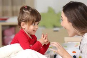 Ребенок говорит, но не разговаривает