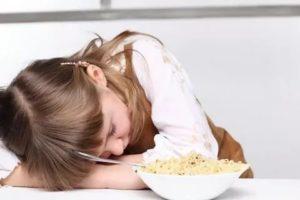 Рвота у ребенка во время и после еды