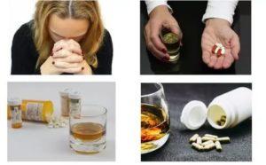 Алкоголь после курса адаптола