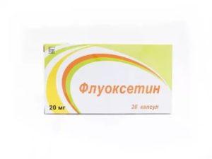 Флуоксетин и СБН
