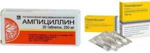 После приема антибиотиков все еще красное горло и увеличились лимфоузлы