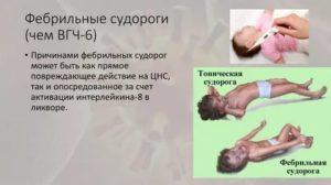 Озноб или фебрильные судороги