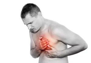 Сжимает сердце часто, тяжело дышать