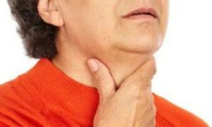 Тянущая, пульсируюшя боль в горле