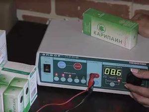 Аппарат для электрофореза с прозерином в домашних условиях