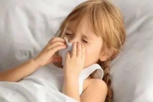 У ребенка 6 лет постоянный насморк
