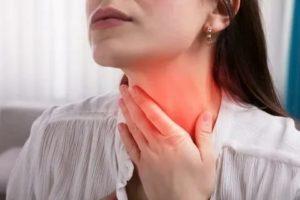Сильная боль в горле температура 38