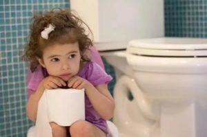 У ребёнка проблемы со стулом