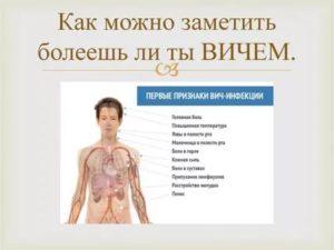 Симптомы схожие с ВИЧ