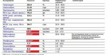 Низкие: гемоглобин- 81 ферритин-2,30 железо-1,88 Высокие Базофилы-5,20