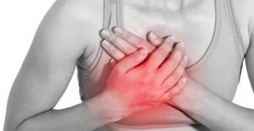 Острая кратковременная боль при нажатии на молочную железу