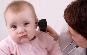 Резкая потеря слуха у ребёнка
