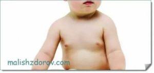 Уплотнение в груди у девочки 9 лет