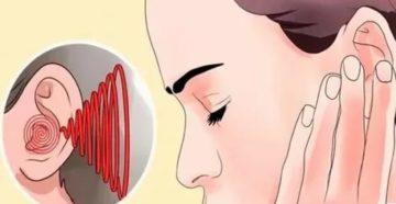 Шум и звон в ушах при глотании
