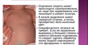 Уплотнение в молочной железе у ребенка