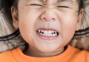 Ребёнок скрипит зубами