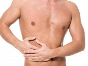 Тошнота, отрыжка, боль со спины под левыми ребрами